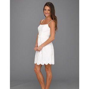 Lilly Pulitzer Antonia white resort dress